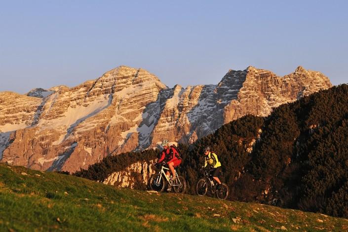 Mountainbike Steinplatte, Reit im Winkl, Bayern